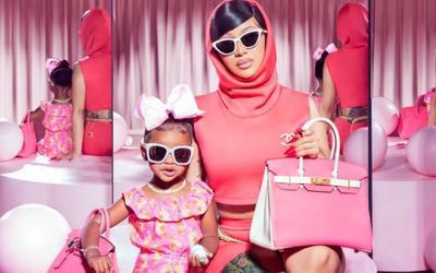 Cardi B bị chỉ trích vì mua hàng hiệu đắt 'cắt cổ' cho con gái còn quá nhỏ