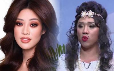 Khánh Vân được chuyên gia Hollywood make-up, fan thở dài: Còn già hơn lúc chưa trang điểm