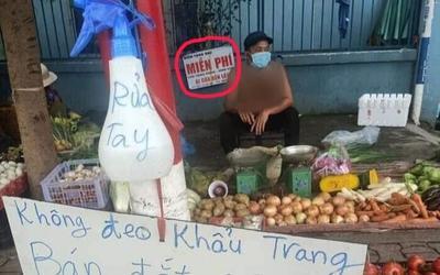 Mới bị chửi vì pha bán hàng 'cực chất', anh chàng bán rau lại gây bão dư luận vì hành động đẹp này
