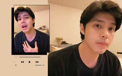 Noo Phước Thịnh lâu lâu 'dốc hết tâm can' hát ballad, fan liền đua nhau vô nhận 'anh trai mưa'
