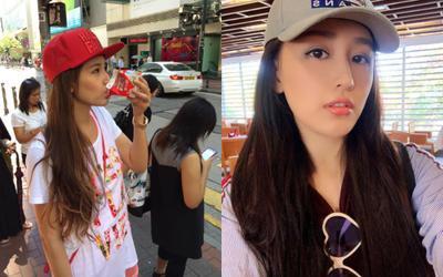 Hoa hậu Mai Phương Thúy up ảnh thời 'trẻ trâu' mặc áo rộng, đội mũ snapback