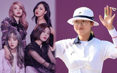An San - cung thủ Hàn Quốc phá kỷ lục Olympic hóa ra là fan của nhóm nữ đình đám MAMAMOO