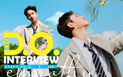 D.O. (EXO) debut solo: Có vài khó khăn khi hát một mình, tiết lộ lí do tự đề xuất ý tưởng cho album