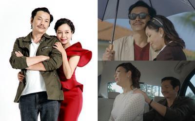 'Ông bố quốc dân' Trung Anh bất ngờ vào vai 'tiểu tam' cắm sừng NSND Mạnh Cường