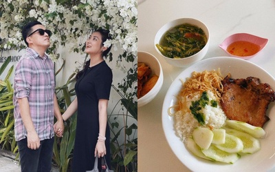 Vợ trẻ của Lam Trường siêng vào bếp, nấu hàng chục món ngon ai cũng thèm