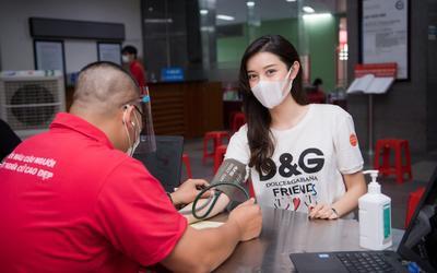 Dàn Hoa hậu - Á hậu đi hiến máu, nghĩa cử cao đẹp khiến fan xúc động