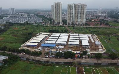 Video: Hình ảnh mới của bệnh viện dã chiến lớn nhất Hà Nội sau hơn 10 ngày thần tốc xây dựng