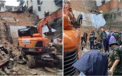Sạt lở đất đá lúc sáng sớm khiến 3 người tử vong và 1 người bị thương ở Quảng Ninh