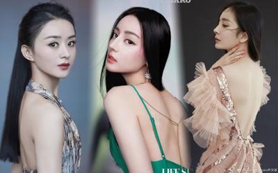 Triệu Lệ Dĩnh, Địch Lệ Nhiệt Ba và loạt mỹ nhân Hoa ngữ đọ lưng trần gợi cảm: Ai là người cuốn hút nhất?