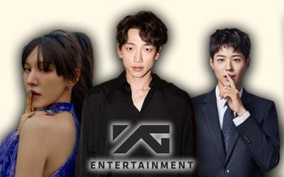 6 sao Hàn suýt được ra mắt ở YG Entertainment: có cả Bi Rain và Park Bo Gum