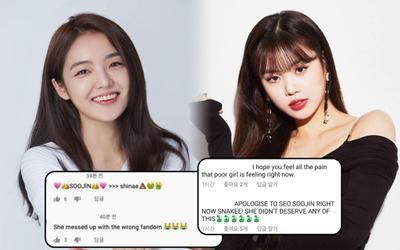 Fan 'khủng bố' kênh Youtube của Seo Shin Ae vì khiến Soojin phải rời nhóm: Chuyện này là sao?