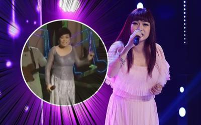 Phương Thanh hát live nhưng micro để tận dưới bụng, netizen thắc mắc: 'Chị hát bằng rốn à?'