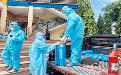 TP.HCM lập các trạm đo nồng độ oxy trong máu và thở oxy tại các khu dân cư
