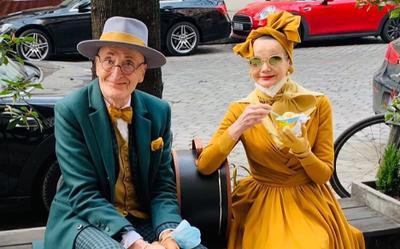 Cặp vợ chồng già nổi tiếng khắp thế giới vì mỗi lần xuống phố là một lần đi catwalk