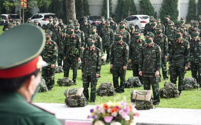 Các lực lượng xuất quân hỗ trợ TP.HCM và các tỉnh phía Nam chống dịch
