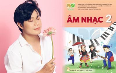 Ca khúc do Nguyễn Văn Chung sáng tác xuất hiện trong sách giáo khoa
