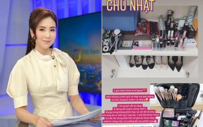 Nữ MC VTV tiết lộ bí quyết xinh lung linh khi lên sóng, sắm sửa loạt sản phẩm khiến hội chị em trầm trồ