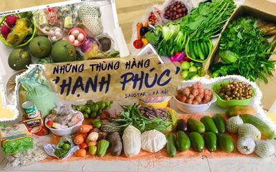 Thùng hàng 'hạnh phúc' của những người con xa quê mắc kẹt tại Sài Gòn