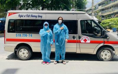 Việt Hương phản ứng văn minh khi bị người lạ hiểu lầm là khoe khoang việc tặng xe cứu thương thứ 4