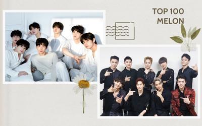Điểm danh 100 ca khúc hay nhất của BXH Melon: EXO vượt BTS, SNSD có 2 bài trong top 10