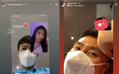 '1001 biểu cảm' khác nhau của hội bạn gái các cầu thủ đội tuyển Việt Nam