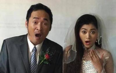 Tiến Luật đăng ảnh 'kết hôn' với đồng nghiệp 'thách thức' bà xã, Thu Trang có động thái ngay và luôn?
