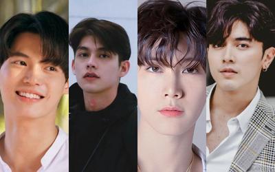 Top 10 mỹ nam Thái Lan có nhiều người theo dõi mới trên Instagram trong tháng 8 năm 2021