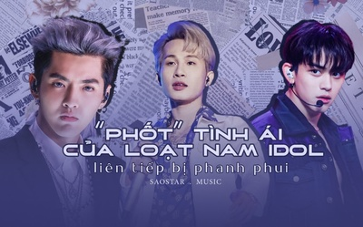 'Phốt' tình ái của loạt nam idol liên tiếp bị phanh phui: Khi hào quang cũng không đủ sức dung túng?
