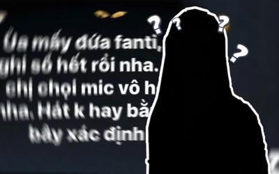 Một nữ ca sĩ Việt Nam đăng đàn đòi 'chọi micro vào họng' fan: Chuyện gì xảy ra thế này?
