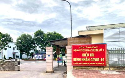 8 nhân viên bệnh viện dã chiến ở Nghệ An dương tính SARS-CoV-2