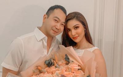Lan Khuê tặng quà sinh nhật cho chồng, nhưng ông xã Tuấn Nguyễn lại đòi 'cạo đầu' nàng Hoa khôi