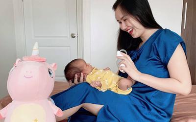 Ăn chay trường khi ở cữ, Võ Hạ Trâm vẫn tự tin con đủ sữa, mẹ giảm cân