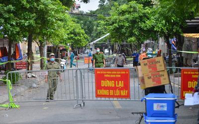 Sau ngày 6/9, Hà Nội sẽ tiếp tục giãn cách xã hội tại vùng có dịch, riêng 'vùng đỏ' áp dụng mức cao hơn