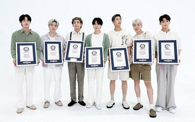 BTS góp mặt trong Đại sảnh danh vọng của Guinness với 23 kỷ lục thế giới