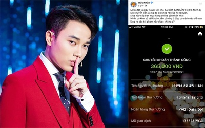 Bị người lạ lừa chuyển tiền, một nam ca sĩ Việt nổi tiếng cầu cứu netizen và không quên 'đá xéo' kẻ xấu