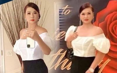Bà xã cố nghệ sĩ Chí Tài lên đồ lộng lẫy đi dự tiệc, fan sửng sốt vì quá đẹp