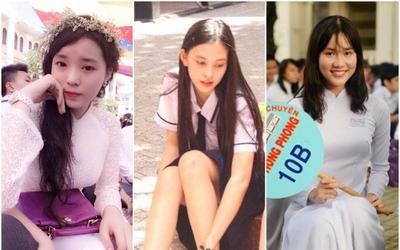 Nhân dịp khai giảng năm học mới, loạt Hoa hậu chia sẻ hình ảnh thời cấp 3 gây xao xuyến
