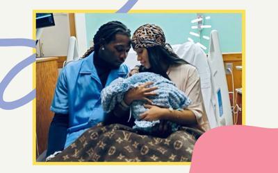 Cardi B hạ sinh con trai thứ 2, ấy vậy dân mạng lại quan tâm chuyện khác