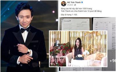 Nữ CEO Đại Nam nói gì trước sự việc MC Trấn Thành tung ra 1.000 trang sao kê tiền từ thiện?