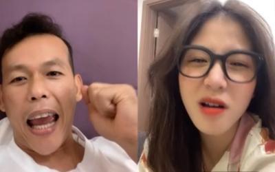 Sau trận thua Úc, thủ môn Bùi Tấn Trường 'cười thả ga' khi livestream với hot girl