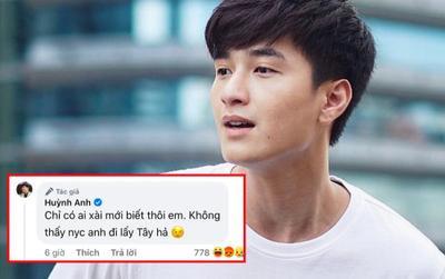 Diễn viên Huỳnh Anh có phát ngôn 'kém duyên', ẩn ý chuyện người yêu cũ đi 'lấy Tây' vì lý do khó đỡ
