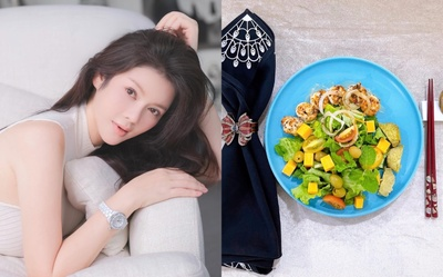 Mùa dịch, Lý Nhã Kỳ khiến fan 'nuốt nước miếng' liên tục vì đồ ăn vừa đẹp vừa thanh
