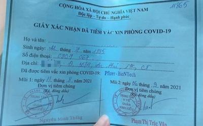 Cô gái khoe tiêm 2 mũi vaccine Pfizer nhờ 'xin ông anh' không phải người thân của Phó Chủ tịch phường