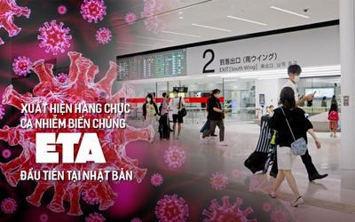 Xuất hiện hàng chục ca nhiễm biến chủng Eta đầu tiên tại Nhật Bản