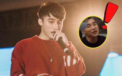 Clip: Sơn Tùng hát chay Em của ngày hôm qua không có nhạc sẽ ra sao?