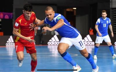 Việt Nam thua Brazil 1-9: Đẳng cấp quá chênh lệch