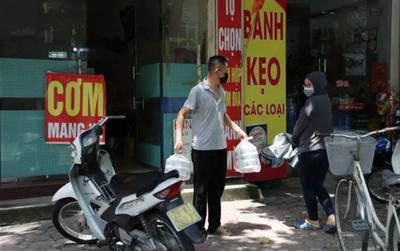 Danh sách 22 quận huyện, thị xã ở Hà Nội dư kiến được bán hàng ăn, uống mang về từ 12 giờ ngày 16/9