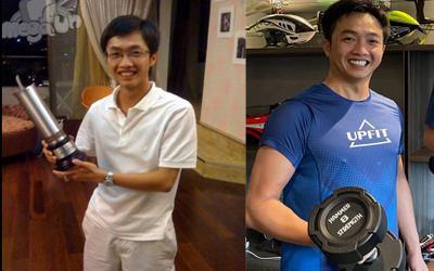 Cường Đô La khoe ảnh cơ bắp cuồn cuộn ở tuổi 40, so sánh chính mình của 10 năm trước