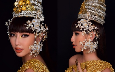 Thùy Tiên gây xôn xao khi nói tiếng Thái kèm tạo hình đậm chất gái Thái giống MV mới của Lisa