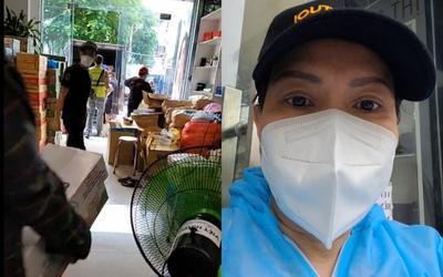 Hiếm hoi hình ảnh Việt Hương xuất hiện trước khung cảnh nhà yên ắng sau tuyên bố ngưng phát quà từ thiện
